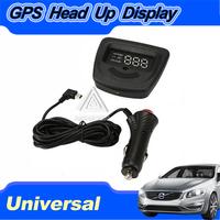 NEW Universal Car Auto GPS HUD Head Up Display MPH / KM/h Driving Speeding warning Display Worldwide Clear LED Display
