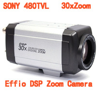 480TVL Effio Sony CCD Mini 30X Zoom  Integrated Digital Auto Focus DSP Zoom Camera With Remote Controller