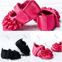 2 COLORS Baby Toddler Shoes Princess First Walkers Baby Toddler Shoes Free &Drop shipping