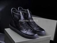 2014 Hot Sale Fashion Classic Plaid Brand Designer Men Shoes Khaki Genuine Leather Suede Canvas Sport Sneakers High Quality