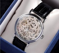 Fashion Brand MCE Men Automatic Mechanical Self-wind Watches Dress Stylish Business Leather Wristwatch Waterproof Clock  NW526
