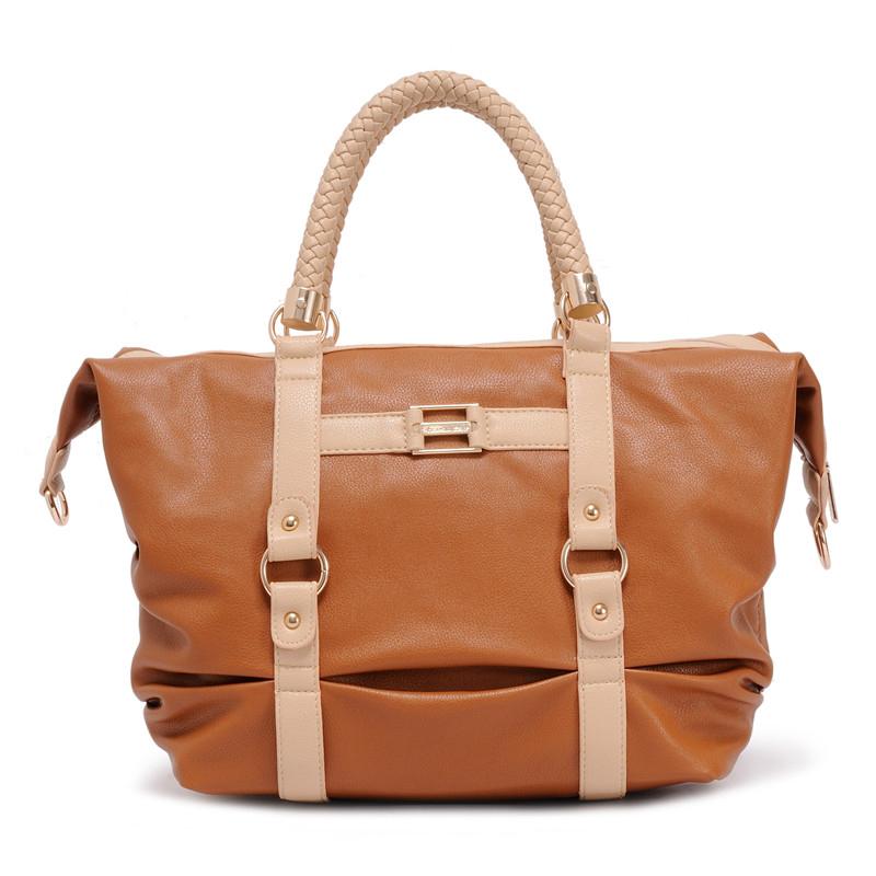 Molle Shoulder Bags for Woman Handbag Vintage 2014 Messenger Bags Crossbody Bag or Women Handbags with Braid Strap 1213(China (Mainland))
