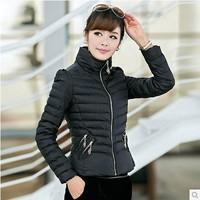 2014 New Fashion Ladies down short design korean winter coats for women,winter outerwear color clothes down jacket parka plus