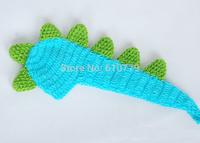 Free shipping newborn photography props Crochet Handmade wool modeling Dinosaur 0-10M