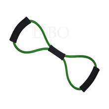 2015 Crossfit Crossfit Resistance Training Bands Tube Workout Exercise for Yoga 8 Type Fashion Building Fitness Equipment Tool