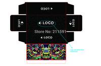 custom box printing paper box packaging 350gsm full color matt or gloss laminated  high quality