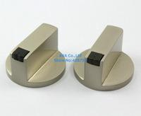 4 Piecec Kitchen Metal Gas Stove Range Burner Knob Switch Replacement 8mm Hole
