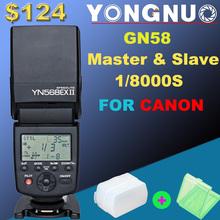 Yongnuo YN-568EX II for Canon, YN 568Ex HSS Flash Speedlite YN 568 5Dmarek III 5DMarkII 5D 7D 60D 50D 600D 550D 500D 450D 400D