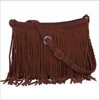 bolsa feminina women messenger bags vintage women handbag designer tassel bag women's bag leather handbags hobos bolsa franja