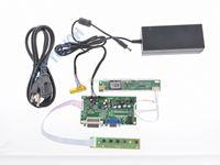 Free Shipping R.RM5451 DVI LCD Controller VGA DIY 1920x1200 Logic Board +12V 4A Power Adapter