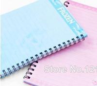 Fro zen Notebook Princess Fro  zen E lsa & A nna Books Coil Notebooks for Student Gift 20.5*14.5cm