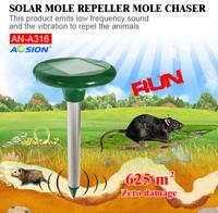Aosion outdoor Garden Tool Solar mice rats rodent mole Repeller AN-A316