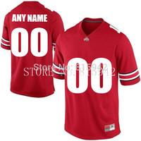 Customized Ohio State Buckeyes White Red Black Grey sewn/stitched Personalized College Football Jerseys custom madecheap
