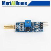 Free Shipping 2pcs/lot  Angle sensor module Ball switch Tilt sensor module for Arduino Kits #BV264 @CF