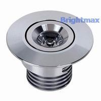 R060B Bridgelux 3W LED downlight Mini downlight LED downlamps Cutout 45mm AC90-260V