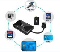 Ho off-S333 mobile phone SIM card reader smart card reader to copy edit No. ATM TF usb2.0 Multi in 1 card reader