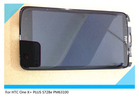 Original Full LCD Display + Touch Screen Digitizer  with frame Assembly  for HTC One X+ PLUS S728e PM63100 W Tools freeshipping