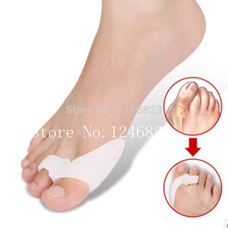 1Pair Feet Care Gel Bunion thumb Toe Spreader protector Eases Foot Pain Foot Hallux Valgus adjuster Guard Bone Braces tools(China (Mainland))
