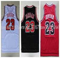 #23 Michael Jordan Brand New Jerseys Classical Black/Red/White Basketball Jersey