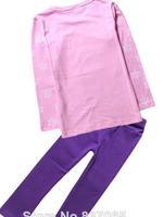 Short Sleeve Clothing Set Costumes Girls Clothing Sets T-Shirt + Demin Shorts  Clothes Sets For Kids 2-8age