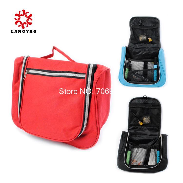50pcs New 2015 Portable Multifunctional Travel Pockets Handbag Wash Bag Make Up Organizer Bag -- BIB04 Wholesales(China (Mainland))
