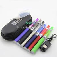EGO CE5 Starter Kit CE5 Atomizer Clearomizer EGO Battery 650mah 900mah 1100mah in Zipper Case 7 Color  CE5 Full Kit