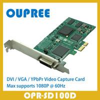 OPR-HD100D 1080P 60Hz DVI HDMI VGA YPbPr Video Capture Card, 1080p 60hz DVI HDMI VGA YPbPr signals Video Grabber