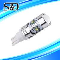 S&D Brand T10 T15 25W CREE led XP-E Super Brightness 194 White High Power W5W 912 921 T15 LED Bulbs Car Backup Reverse Lights