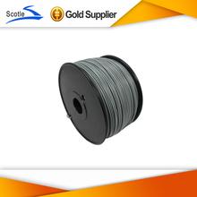 Flashforge 3D printer PLA filaments,diameter 1.75-1.8mm.plastic Consumables Material for MakerBot/RepRap/UP/Mendel