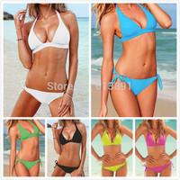 2014 fashion sexy candy color bikini Multicolor optional free shipping BJ028
