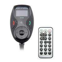 Car MP3 Player Bluetooth FM Transmitter Modulator Car Kit Wireless LCD Hands-Free Talk A2DP Remote Control USB SD MMC New 2014
