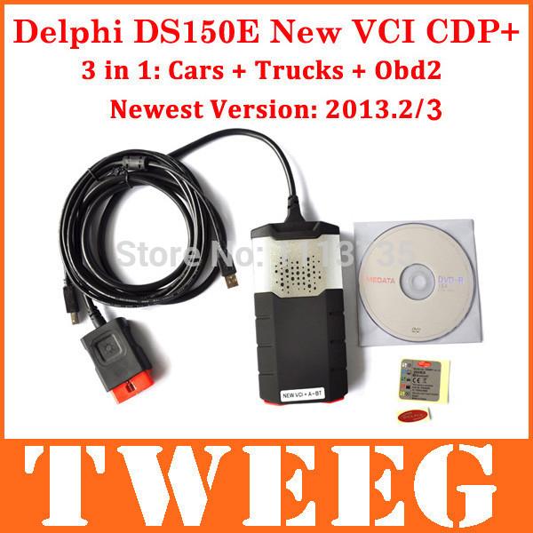 2014 dhl del ds150e ds150 e cdp pro plus neue vci tcs auto lkw diagnose scan-tool auto-scanner ds 150 führte 3 in 1
