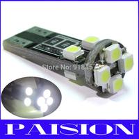 2pcs Canbus 8-SMD T10 W5W LED Light No Error for Audi A3 S3 A4 B4 B5 B6 B7 B8 White