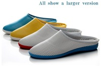 2014 summer male men's sandals 4 color decoration male loafers foot wrapping shoes