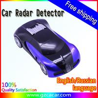 Free Shipping Super Model Car Radar Detector anti car laser radar detector