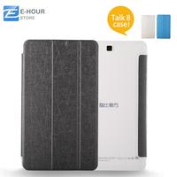 Original 8 inch Flip Case For Cube Talk8 U27gt Tablet High Quality Different Color For Option Gold Silver Blue