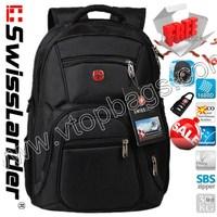 15.6 inch laptop backpack,men laptop bag,men's computer backpacks,notebook bag,brand Swiss Lander,Swisslander,Swiss Army 8706