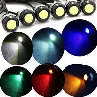 2pcs/lot 3W LED DC 12V Eagle Eye Car Light Source for Daytime Running DRL Tail Backup Stop Light Car Motor