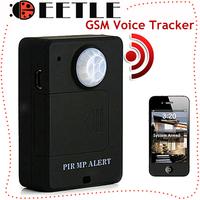 New A9 Gsm Wireless PIR Sensor Motion GSM Detector Alarm System Alert Monitor Remote Control Mini Gsm Tracker Anti-Theft Alarm
