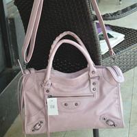 2014 New Medium Tassel Poto PU Leather Working Handbags Fashion Shoulder Messenger Bag Wristlet Bags motorcycle bag BG050