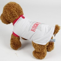 Pet Dog Clothes The Punk Leather Jacket Jeans Pet Dog Winter Clothes Dog Jumpsuitm Red Black Coffee Color Free Shipping