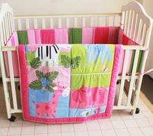 Lovely Animals Crib Bedding