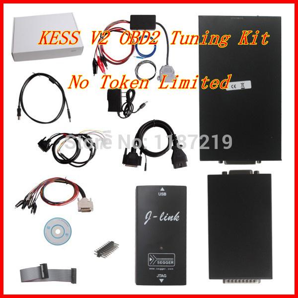 Newest No Token Limitation KESS V2 OBD2 Manager Tuning Kit V2.10 with Multi-language DHL CN Free Shipping(China (Mainland))