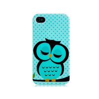 for iphone 4 4s 5 5s case hot sale sleeping owl design cell phone tpu cases covers for iphone4s free shipping