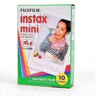 For Instant Camera 10 pcs Polaroid fujifilm instax mini 8 film Twin Pack shoot Photo Paper