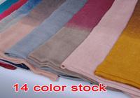 wholesale ladies printe ombre shade plain fashion100% viscose shawls long cotton voile hijab muslim scarves/scarf 10pcs/lot