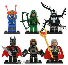 Super Heroes minecraft The  venom green arrow odin soldierBatman  Building Block Minifigure DIY Bricks Toys Compatible With Lego(China (Mainland))
