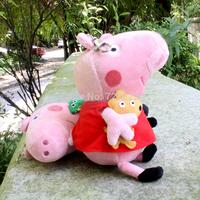 2pcs/lot Pepa/Pepe/Pepper/Pink Pig plush toys George pig dolls anime Peppa pig Plush toys doll