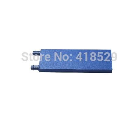 2pcs CPU Água de Resfriamento Bloco Waterblock líquido refrigerador de alumínio 122 * 41 * 12mm(China (Mainland))