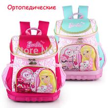 HOT Princess Children School Bags Orthopedic Backpack for Girls Quality Kids Cartoon Mochila Escolar Princesas Primary Bookbags(China (Mainland))